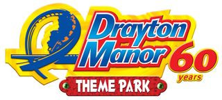 Drayton Manor 60 years logo