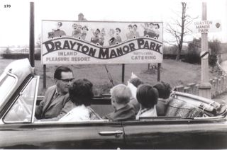 George and Vera and children Drayton Manor