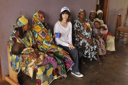 Rosie Scribble Pampers UNICEF Cameroon