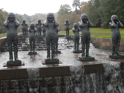Water feature Chatsworth