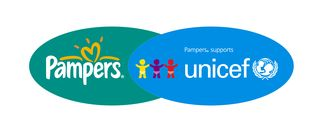 Pampers UNICEF logo