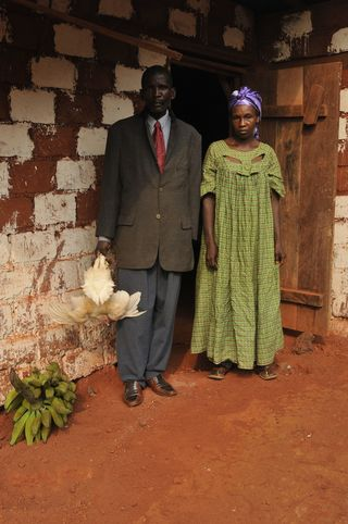 Grandparents Akussa Village Cameroon