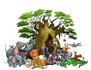 Bush Tales Characters