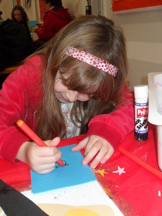 Card-making at Chatsworth