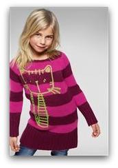 Cat Stitch Jumper Dress
