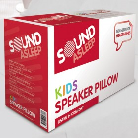 Sound asleep kids pillow