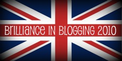 Brilliance in Blogging Badge