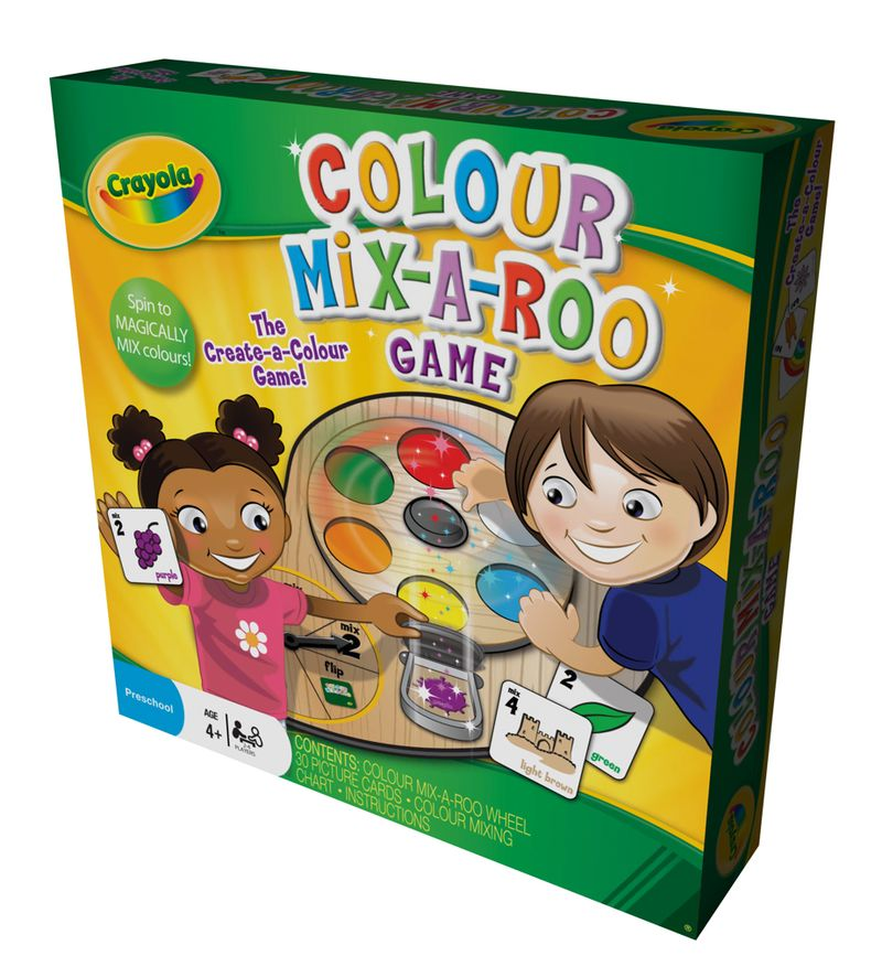 Colour Mix a Roo game