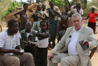 Martin Bell in South Sudan