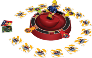 Fireman Sam Spin and Rescue Game