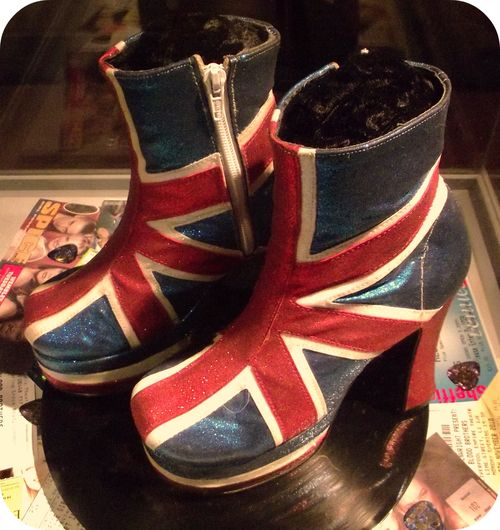 Spice Girls Union Jack boots