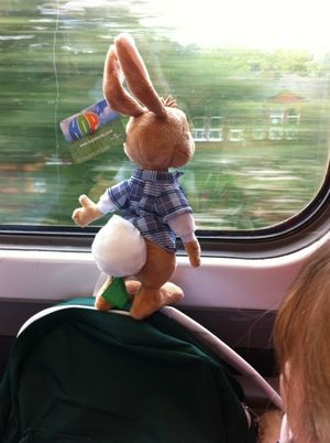 Hop on a train