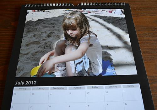 Photobox calendar