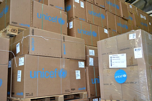 UNICEF supply division Copenhagen