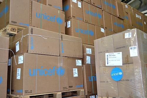 UNICEF supply division Copenhagen