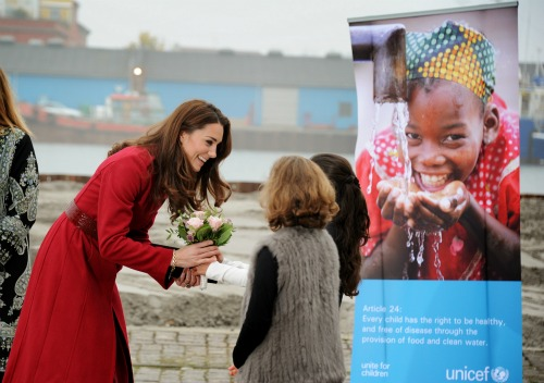 UNICEF Royal Visit Copenhagen