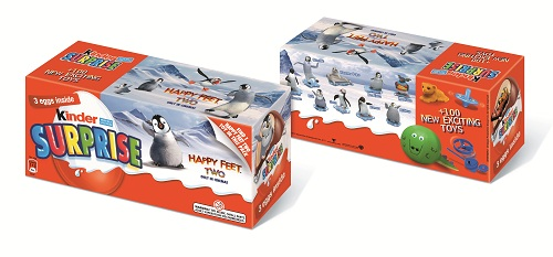 Kinder Surprise Happy Feet Two