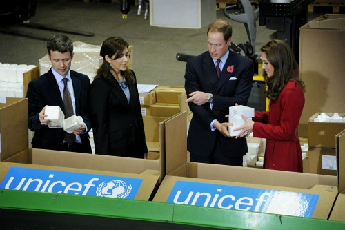 Royal Visit UNICEF Copenhagen