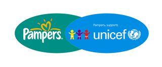 Pampers UNICEF logo
