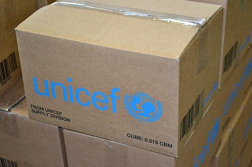 UNICEF box